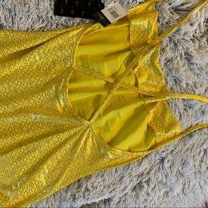 COOGI Swim - COOGI yellow mini dress NWT